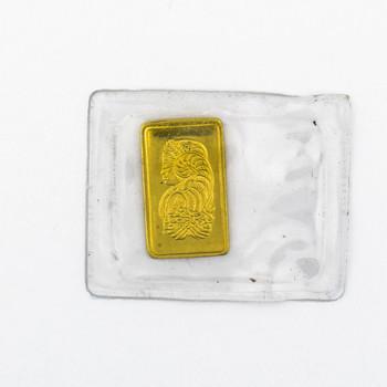 999.9 1.00 Gram Suisse Fine Gold Bar
