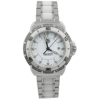 Tag Heuer Lady's Formula One Stainless Steel Diamond Watch
