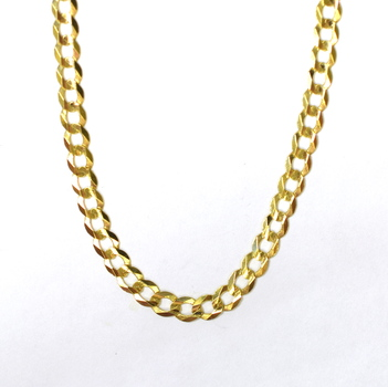 14K Yellow Gold 9.70 Grams Link Chain Necklace