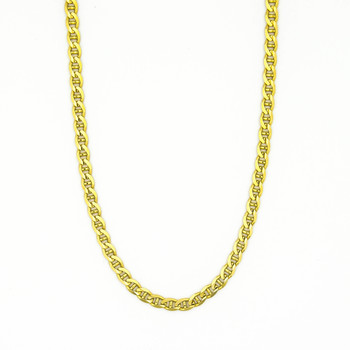 14K Yellow Gold 12.50 Grams Link Chain Style Necklace
