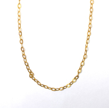 18K Yellow Gold 2.10 Grams Link Chain Necklace