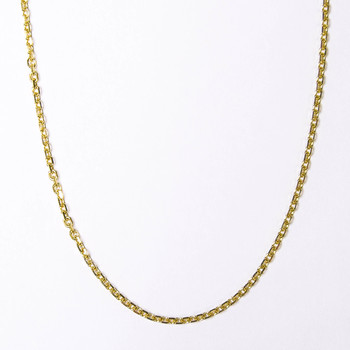 14K Yellow Gold 3.40 Grams Link Chain Necklace 25.50 Inches
