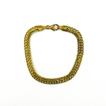 14K Yellow Gold 3.75 Grams Link Chain Bracelet