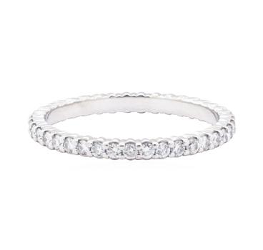 14K White Gold 1.78 Grams Diamond Ring