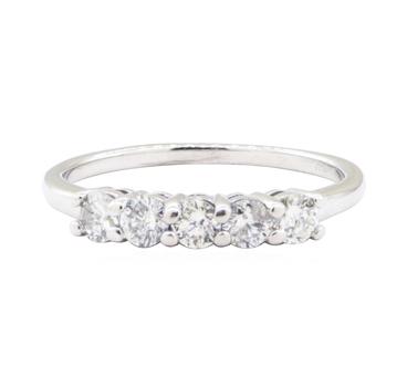 10K White Gold 1.76 Grams Diamond Ring