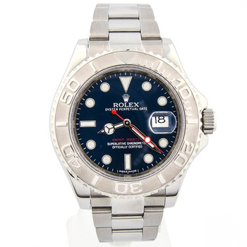 Rolex Yacht-Master Mens 40mm Blue Dial Steel 116622