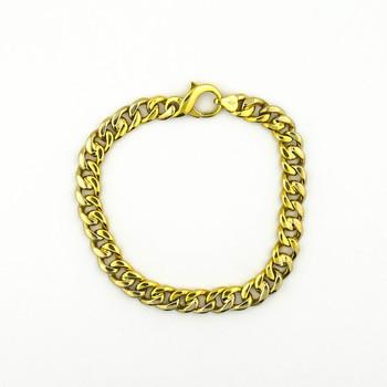 14K Yellow Gold 46.35 Grams Link Chain Style Bracelet