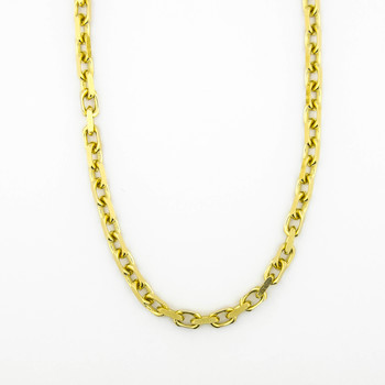14K Yellow Gold 45.95 Grams Link Chain Necklace