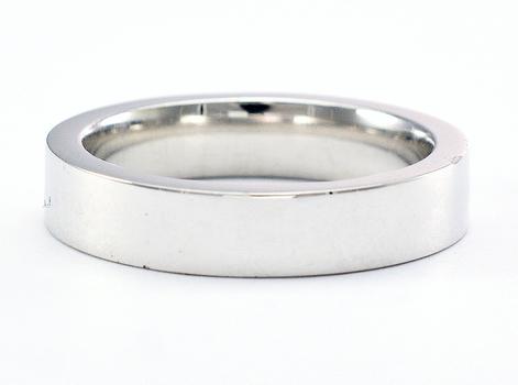 Platinum 15.90 Grams High Polished Men's Wedding Band