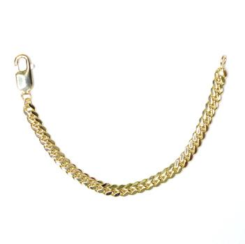 14K Yellow Gold 10.40 Grams Link Chain Bracelet