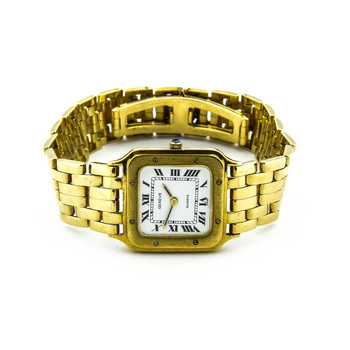 Geneve 14K Yellow Gold 83.25 Grams White Dial Lady's Watch