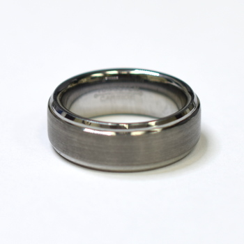 Tungsten Carbide Men's Wedding Band