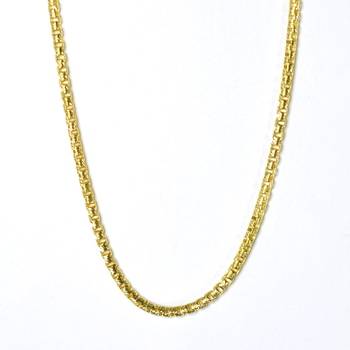 14K Yellow Gold 30.60 Grams Ultra Light Link Chain Necklace