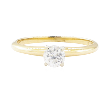 14K Two Tone Gold 1.74 Grams Diamond Ring