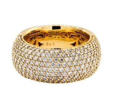Leo Wittwer Design 18K Rose Gold 17.10 Grams 2.50 Carats t.w. Diamond Ring