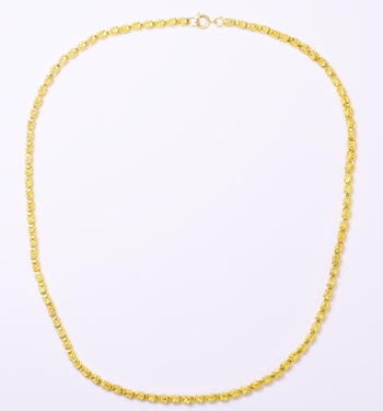 14K Yellow Gold 26.47 Grams Link Chain Necklace