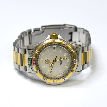 Tag Heuer Professional 36mm Stainless Steel & Gold Plated Mens Watch