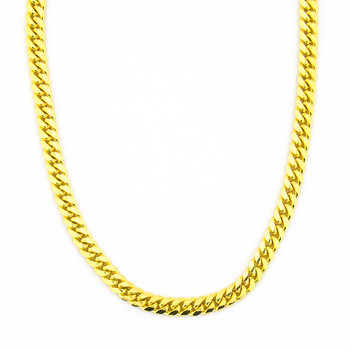 14K Yellow Gold 21.85 Grams Link Chain Necklace