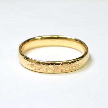 12K Yellow Gold 20.25 Grams High Polished Bangle Bracelet