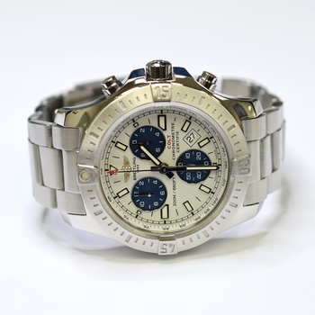 Breitling Colt Chronograph 44mm Stainless Steel Mens Watch A73388