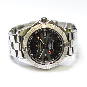 Breitling Colt GMT 41mm Stainless Steel Mens Watch A32350