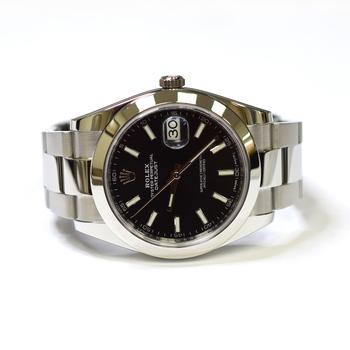 Rolex Datejust 41mm Stainless Steel Mens Watch 126300