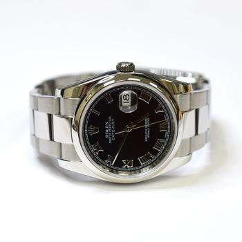 Rolex Datejust 36mm Stainless Steel Unisex Watch 116200