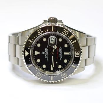 Rolex Sea Dweller 43mm Stainless Steel Ceramic Bezel Mens Watch 126600