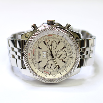 Breitling for Bentley 6.75 Chronograph 48.7mm Stainless Steel Mens Watch A44362