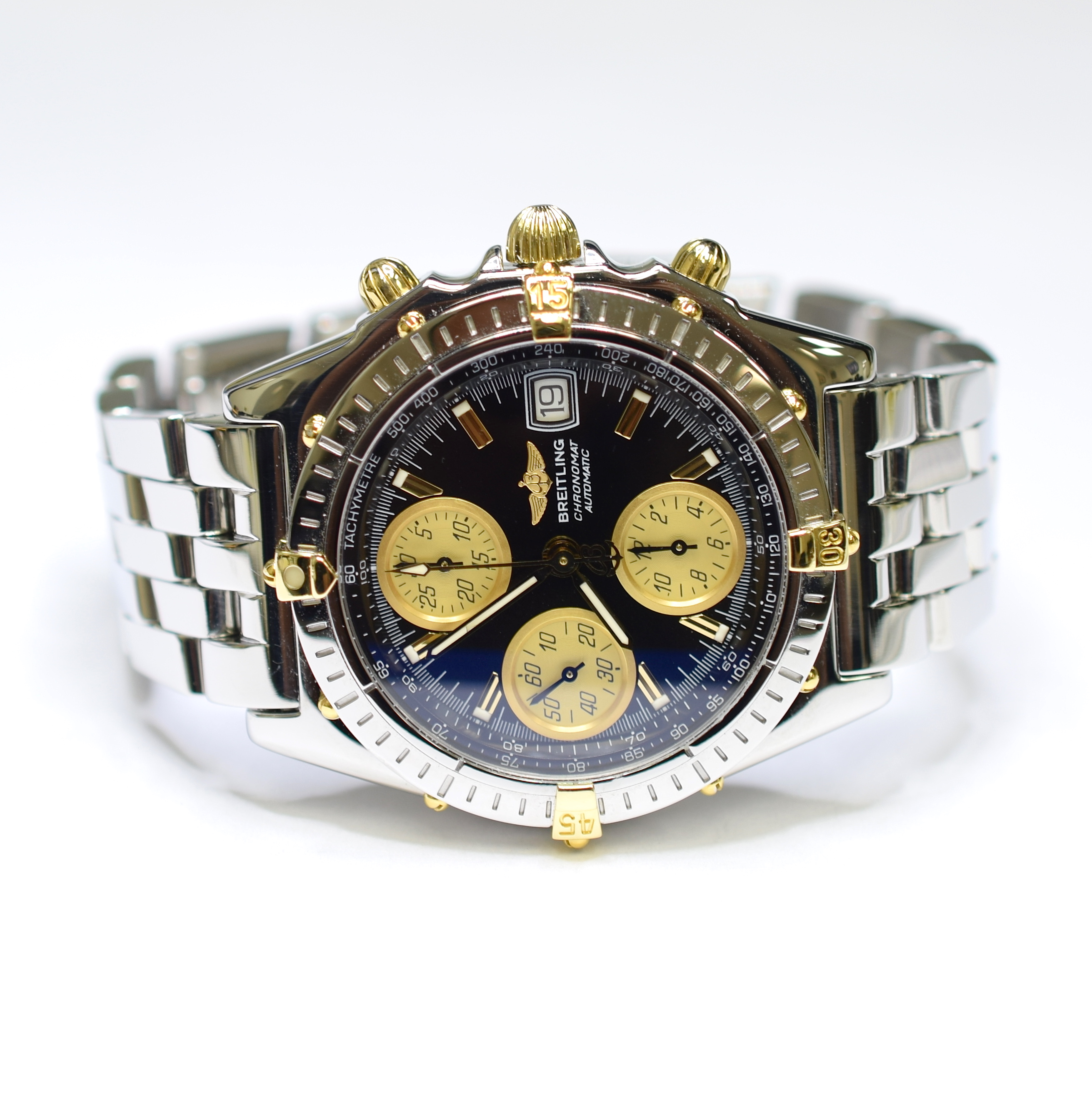 Breitling Chronomat Chronograph 40mm Stainless Steel And 18k Gold