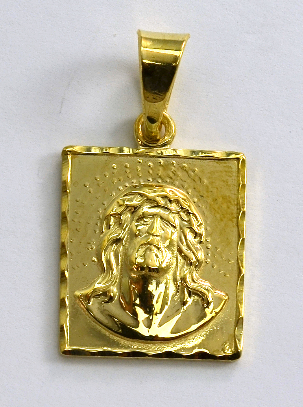 14k Yellow Gold 8 33 Grams High Polished Quot Jesus Quot Image