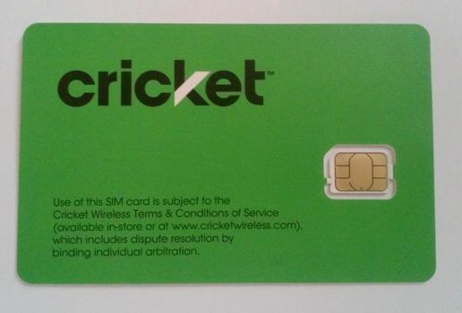 Lot of 81 Quantity New Cricket Nano Sim Cards - Ready for Activation