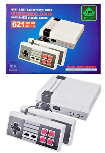 Mini Classic Retro Gaming System 621 Games