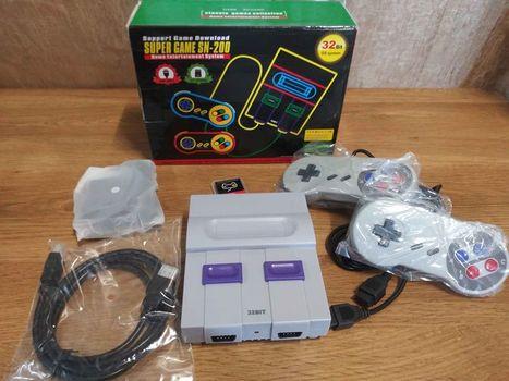 Super Classic 32 Bit Retro Gaming Console 1500 Games