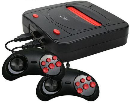 16 Bit Retro Classic Gaming Console 188 Games