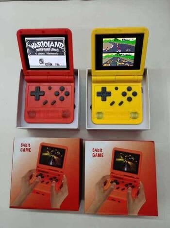 Brand New 64-Bit Handheld Classic Retro Game Console - 2000 Games
