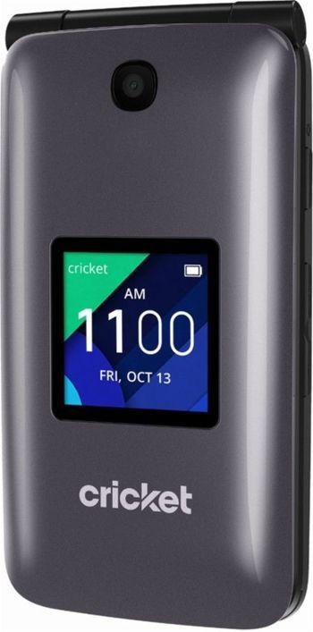 Brand New GSM Unlocked Cricket Alcatel QuickFlip 4044C 4G LTE 4GB Flip Phone