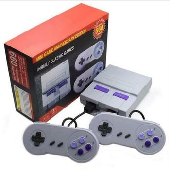 Brand New Mini Amusement System Game Console - 660 Games