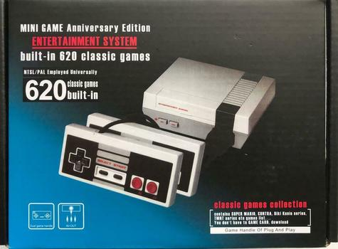 Brand New Mini Entertainment System Game Console - 620 Games