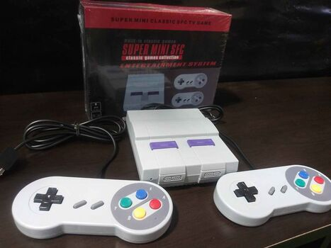 Brand New Super Mini Classic Retro Gaming System - 94 Games
