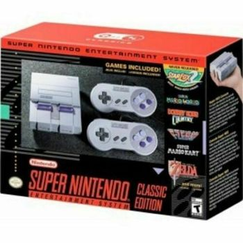 Brand New Super Nintendo Entertainment System (SNES) Classic 21 Games