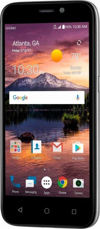 "Brand New Unlocked Cricket ZTE Prelude+ 4G LTE 5"" Android Smartphone"