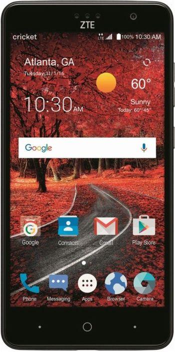 "Brand New Unlocked ZTE Grand X 4 Android 5.5"" Smartphone 4G LTE w/ Fingerprint Sensor"