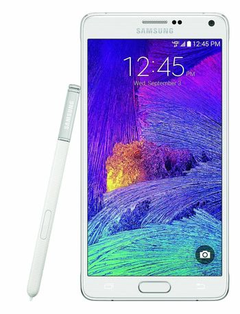 """GSM Unlocked Samsung Galaxy Note 4 Android 32GB 5.7"""" Smartphone - White"""