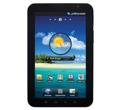Samsung Galaxy Tab SCH-I800 2GB Wi-Fi + 3G Verizon 7in Tablet - Black