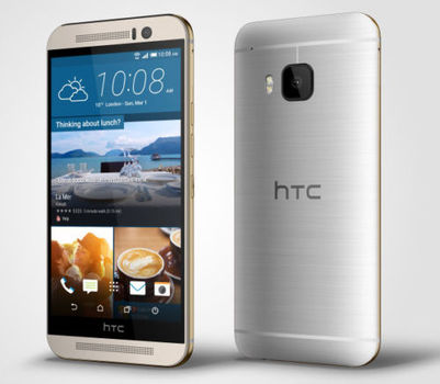 T-Mobile HTC One M9 32GB Android Smartphone - Gold and Silver