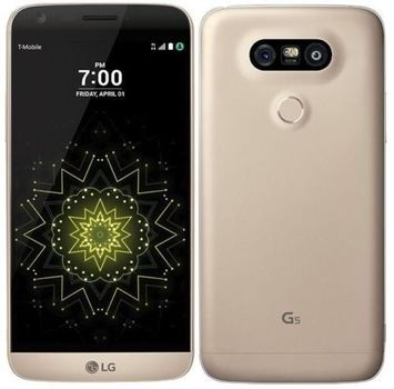 """T-Mobile LG G5 H830 5.3"""" Android 4G LTE Smartphone - Gold"""