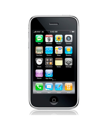 Unlocked - Apple iPhone 3G 8GB GSM Smartphone