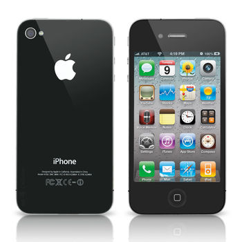 Unlocked Apple iPhone 4 16GB Smartphone