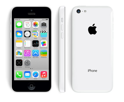 Unlocked Apple iPhone 5c 16GB Smartphone - White